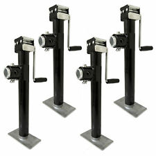 4x Heavy-Duty Jockey Stand/Jack Stand/Trailer Stand 907kg Load with a Stabiliser