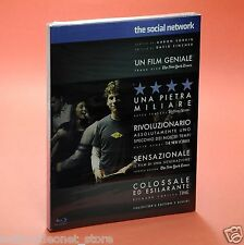 THE SOCIAL NETWORK BLURAY DAVID FINCHER Collector Edition 2 dischi Blu-Ray BluRa