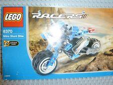 Lego ® Technic de recette 8370 Nitro Stunt Bike instruction Ba perforées