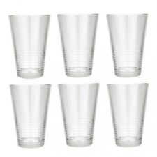 Set of 6 Juice Highball Drinking Glasses 350 ml Water Cocktail Tumblers Cups New