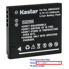 Kastar Replacement Battery for Panasonic DMW-BCK7 DE-A92 & Lumix DMC-FH4 Camera
