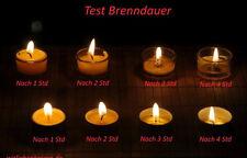 30 Teelichter Bienenwachskerzen Beeswax candle tea lights Kerzen Bienenwachs
