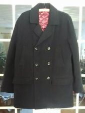 Mans Navy Coat Jacket Size Medium Quilted Inner Cotton Traders