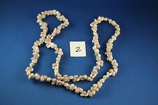 "Necklace Made Of Tiny Sea Shells 36""   (2)"