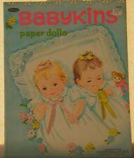 VINTAGE BABYKINS PAPER DOLLS UNCUT
