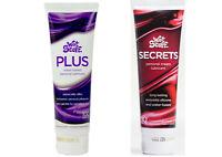 2 x Wet Stuff Secrets & Plus Sex Lubricant Silicone & Water Based Lube Cream