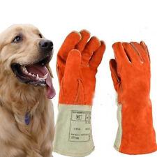 Thicken Leather Anti-bite Gloves Animal Training Snake Bite Anti-scratch Glove