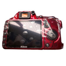 Original Red Rear Cover + Key Button for Nikon D3100 Camera Repair Assembly Part