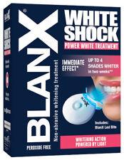 NEW BlanX White Shock treatment, Safe fast whitening, 50 ml+led bite