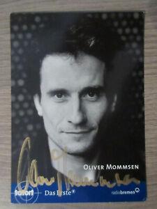 Oliver Mommsen original handsignierte Autogrammkarte / Tatort T5