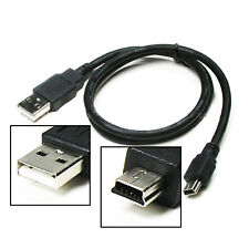 High Speed USB 2.0 PC Fast Cable Lead - Type A Male to Mini B 5 Pin