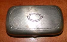 ANTIQUE RUSSIA SILVER CIGARETTE BOX, 1879 YEAR ,91.5 g,295 mm/55 mm