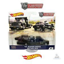 Hot Wheels Car Culture Team Transport C Case 66 Super Nova Retro Rig