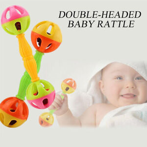 Infant Baby Development Toy Rattle Shake Hand Bell Intelligent Educational Gift