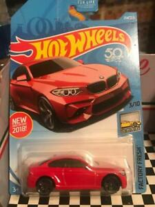 "2018 HOT WHEELS .""2016 BMW M2""------RED"
