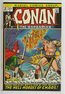 Conan the Barbarian #15: Bronze Age Grade 8.0 Find Featuring Elric!!