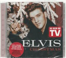 ELVIS PRESLEY 2 LP's On 1 CD ELVIS CHRISTMAS  With 2 Hype Stickers - SEALED!