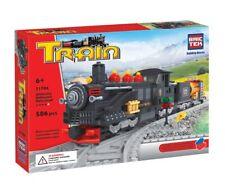 Black Locomotive BricTek Building Blocks Construction Bricks Toy Bric Tek 21704