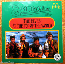 """McDonalds Santa Claus the Movie Vintage 1985 """"The Elves at the top of the World"""""""
