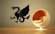 Wall Stickers Vinyl Decal Chinese Dragon Fantasy Mythical Creatures Legend ig164