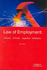 The Law of Employment by Jamed et al Macken (Paperback, 2002) near nes