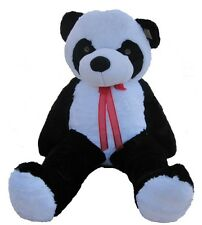 "Giant Huge Big 63"" Panda Bear Stuffed Plush Animal Toy Birthday Gift"