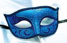 Holiday Venetian Masquerade Mask with and Pixie Dust - Costume, New Year's Party