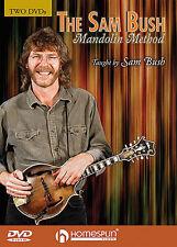 The Sam Bush Mandolin Method DVDs Learn To Play Tutor