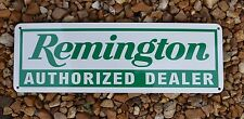 Remington Auithorized Dealer Shotgun Firearm SIGN Gun Shop Repair Logo SIGN 7day