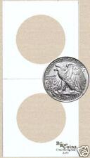 2x2 coin holders flips lot of 100 - HALF DOLLAR 30.6mm