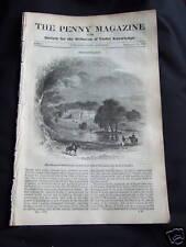 1839 The Penny Magazine - Strathfieldsay, Holland
