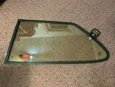 1981 - 1993 Classic Saab 900 Hatchback Black Left Rear Vent Pop Out Window