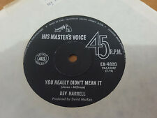 YOU REALLY DIDN'T MEAN IT // BEV HARRELL RARE OZ NORTHERN SOUL HMV 1967