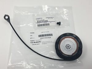 2005-2009 Subaru Legacy & Outback Fuel Gas Tank Fill Cap & Clip OEM Genuine new