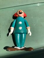 1974 LARRY HARMON BOZO THE CLOWN VINYL CHARACTER TOY Figure Hong Kong Made