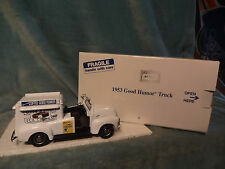 DANBURY MINT-GOOD HUMOR ICE CREAM 1953 CHEVROLET 3100 HALF-TON TRK W / PAPERWORK