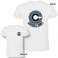Camiseta Dragon Ball Capsule Corp Bulma Hombre varias tallas y colores