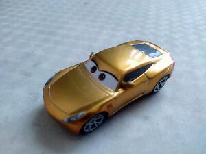 Disney Cars Gold Metallic Cruz Ramirez 1/55 Diecast loose