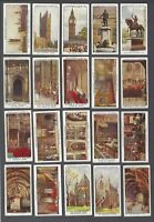 1931 Churchman The Houses of Parliament Tobacco Cards Complete Set of 25