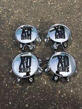 4 NEW KMC XD 8 Lug Chrome Wheel Center Cap 1079L170 XD 798 801 810 796 807 CRANK