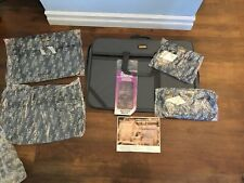Sir Bentley Vintage 6-Piece Luggage Travel Set Gray Toiletry Carry-on Suitcase