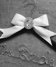 Beautiful Personalised Wedding Bridal Bridesmaid Hanger Any Name Other Colours ❤