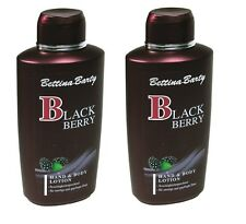 Bettina Barty BLACKBERRY Body Lotion  2 x 500ml Sparangebot NEU