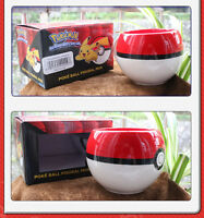 Pokemon GO Poke Ball 3D Figural Handgrip Ceramic Mug Coffee Cup Gifts Boy Girl