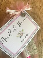 *Maid of Honour Survival Kit* Unique Thank You Novelty Gift Wedding Favour