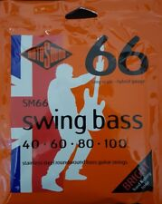 Rotosound Swing Bass SM66 40-100 hybrid Stainless Strings 4 Saiten long scale