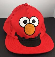 Sesame Street Elmo Big Red Face Hat Fitted Cap 7 3/8