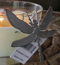 Dragonfly Jar Clinger Candle Accessory by Yankee Candle New with Tag