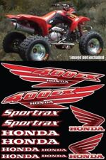 400ex Decals Graphics 12pc ATV QUAD Gen 1 FULL COLOR RED Pick Any Color