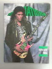 foundations magazine may 1990 steve vai